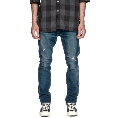 nonnative Dweller 5p Jeans Dropped Fit C/P 12oz Denim Stretch VW  -Joseph- Indigo