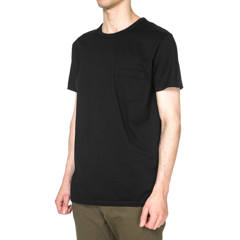 Dweller Crew SS Cotton Jersey Black