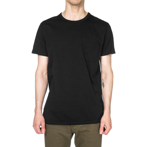 nonnative - Dweller Crew SS Cotton Jersey Black