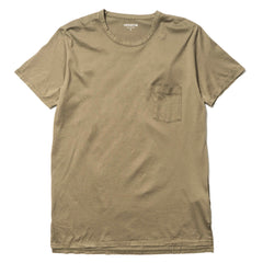 nonnative - Dweller Crew SS Cotton Jersey Taupe