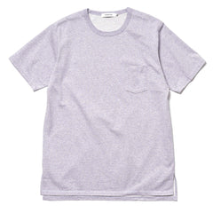 Dweller S/S Tee Cotton Plated Jersey M.Lavender