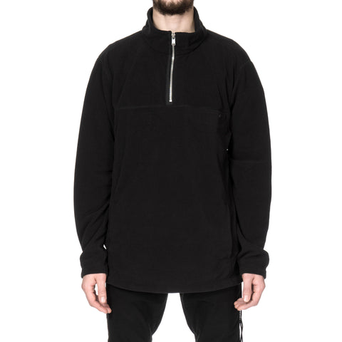 nonnative Explorer Half Zip Poly Fleece Black