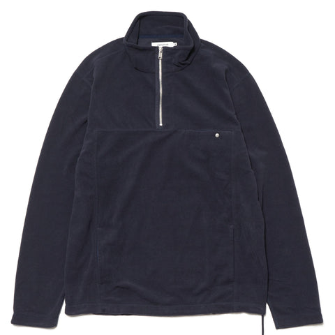 nonnative Explorer Half Zip Poly Fleece Navy
