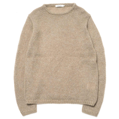 nonnative Farmer Sweater W/N Mohair Yarn Taupe