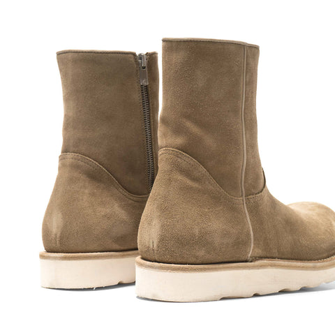 nonnative Farmer Zip Up Boots Cow Suede By Officine Creative