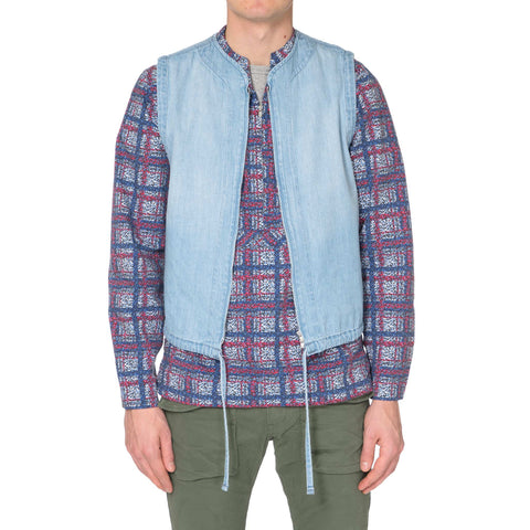 nonnative Gaurdian Vest - Cotton 7.5oz Denim VW