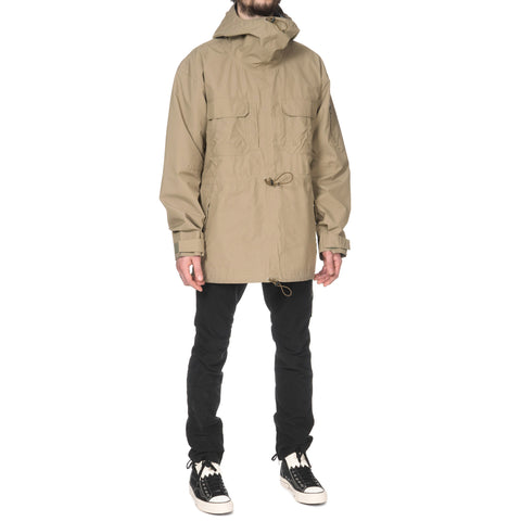 nonnative Handyman Hooded Pullover Nylon Ripstop With Gore-Tex Pro 3L Eucalyptus