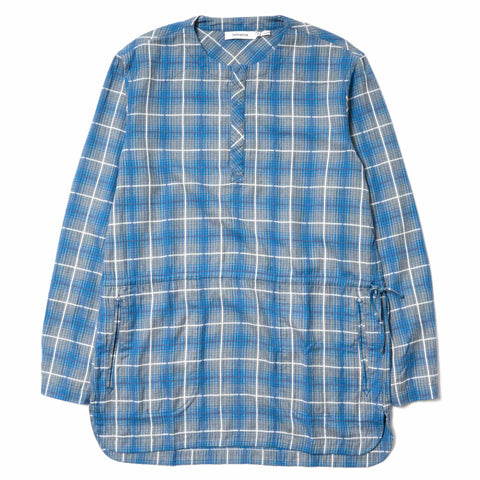 nonnative Rancher Pullover Long Shirt C/R Tone On Tone Check