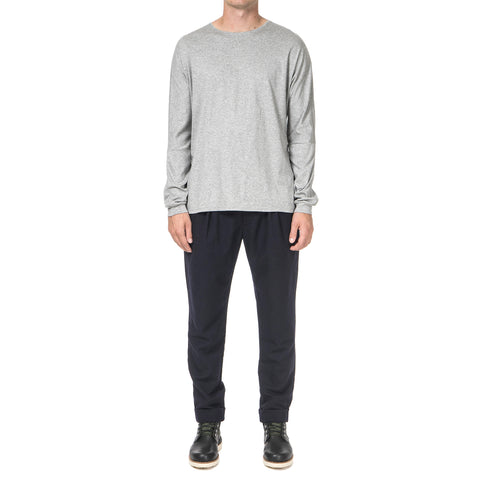 nonnative Roamer L/S Tee Cotton Smooth Jersey Cement