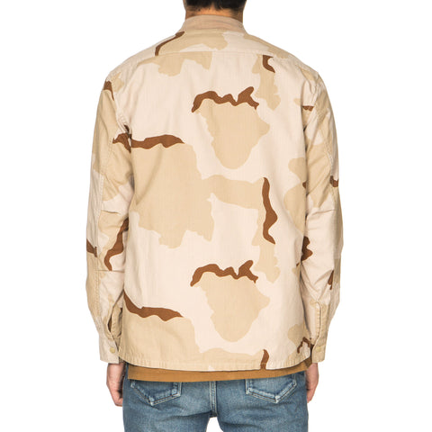 nonnative Trainer Shirt Cotton Ripstop Desert Camo