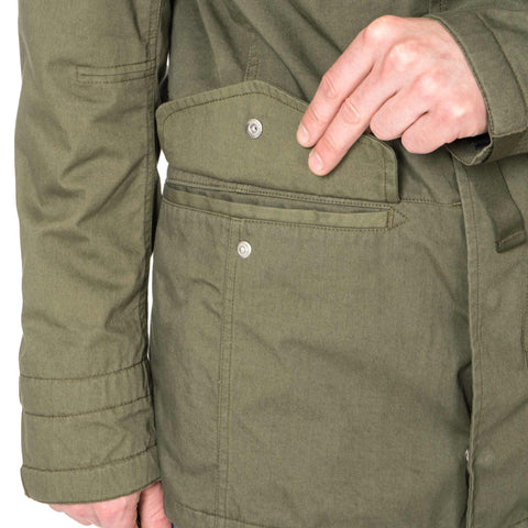 nonnative Trooper Jacket Cotton Army Cloth with WINDSTOPPER® 2L