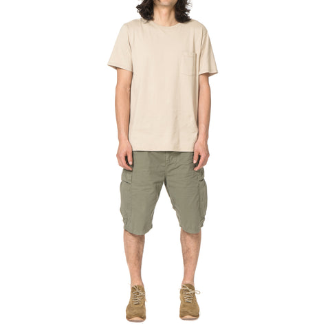 nonnative Trooper Shorts Cotton Twill Overdyed Olive
