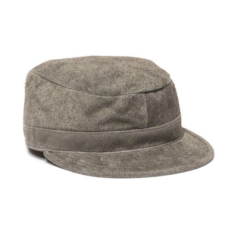 nonnative Worker Cap Cow Leather Cement