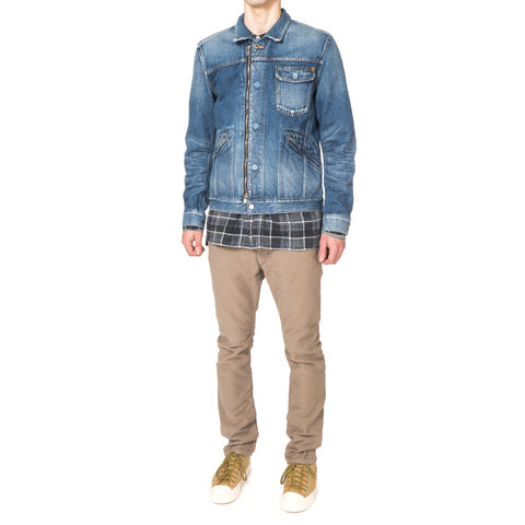 "nonnative Worker Jacket Cotton 13oz Selvedge Denim VW ""Russell"""