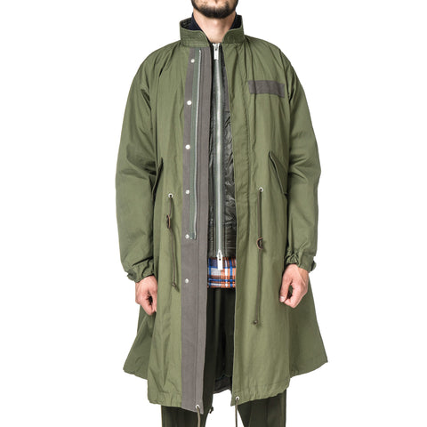 sacai Insulated Fishtail Coat
