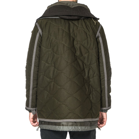 sacai Insulated Hooded Coat
