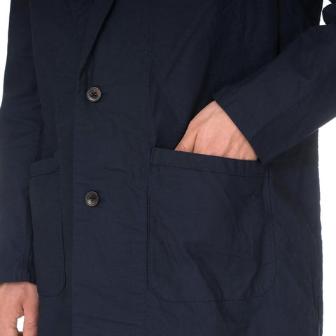 SOPHNET. Gown Shirt Navy