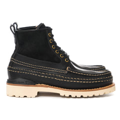 visvim Grizzly Boots Mid-Folk Black
