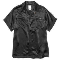 visvim Irving Shirt S/S Peerless Black