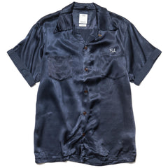 visvim Irving Shirt S/S Peerless Navy