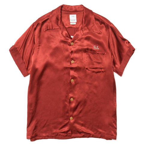 visvim Irving Shirt S/S Peerless Red