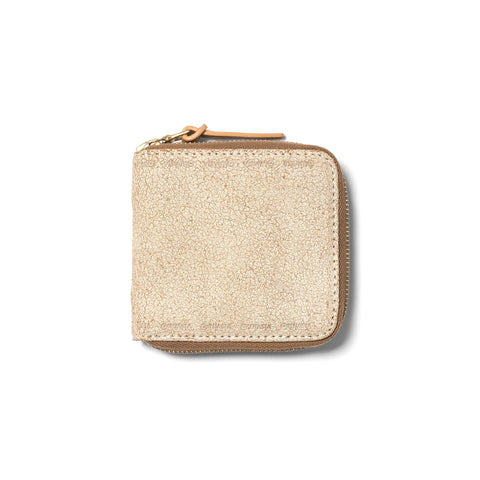 visvim Leather Bi-Fold Ivory