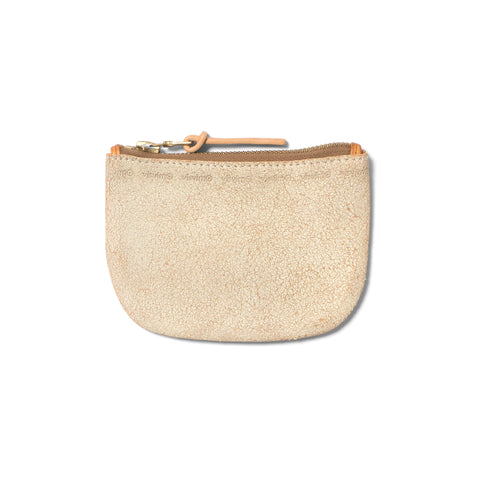 visvim Leather Wallet Ivory