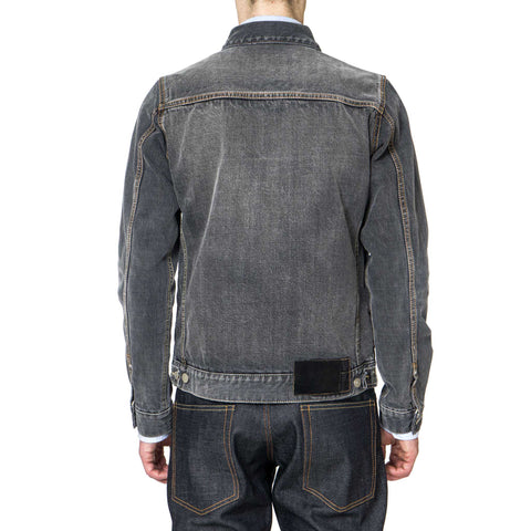 visvim SS 101 JKT Damaged Black