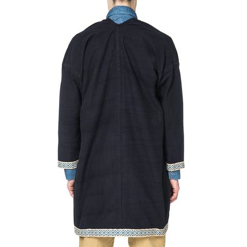 visvim Sanjuro Coat Silk Road