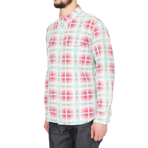 visvim Wally Shirt (Printed Check) Green