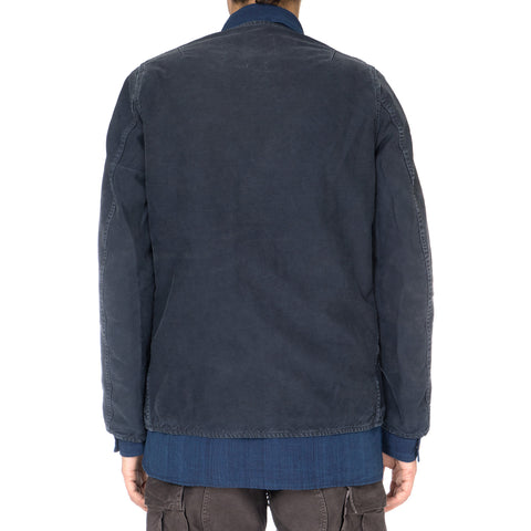 VISVIM Morning Star JKT (DMGD CHINO) Navy
