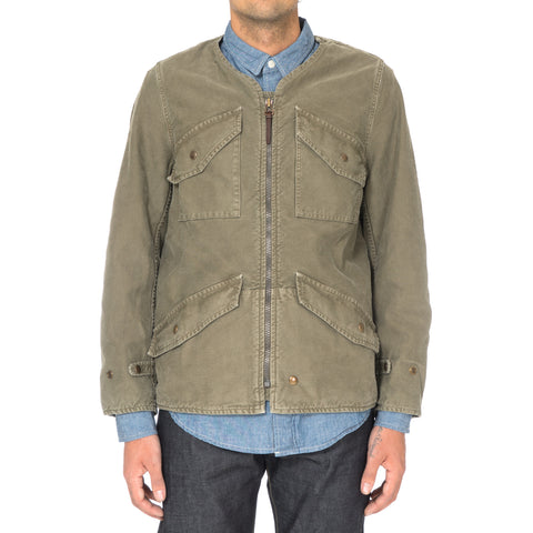VISVIM Morning Star JKT (DMGD CHINO) Olive