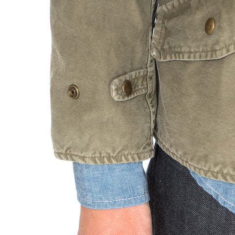 Morning Star JKT (DMGD CHINO) Olive