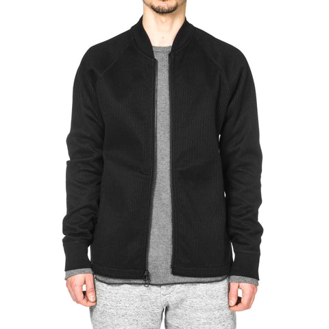 wings + horns Knitted Bomber
