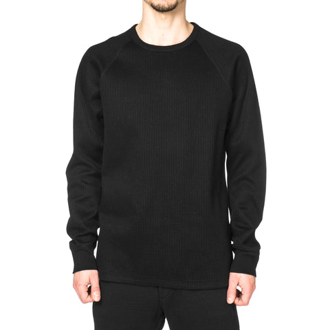 wings + horns Knitted LS Crewneck