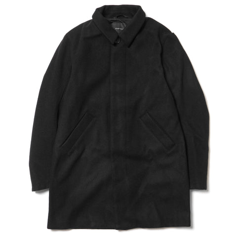 wings + horns Melton Wool Mac Coat