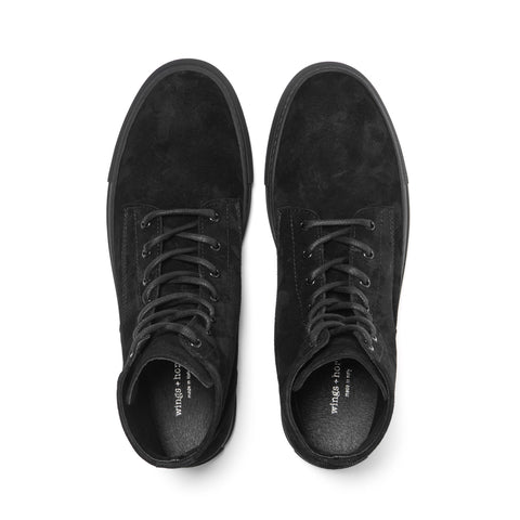wings + horns Service High Top Black/Black