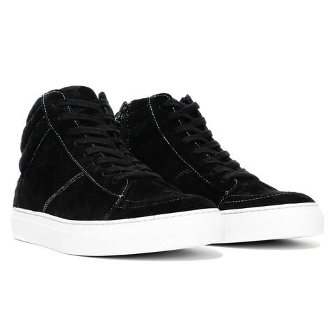 wings + horns x HAVEN Shaggy Suede Hi-Top Sneaker