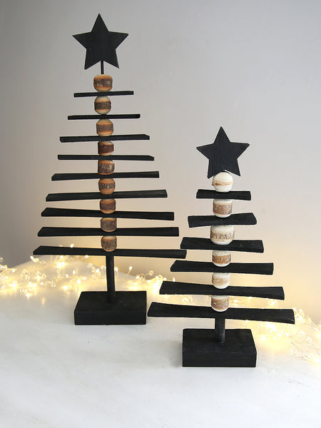 Black Decorative Christmas Tree