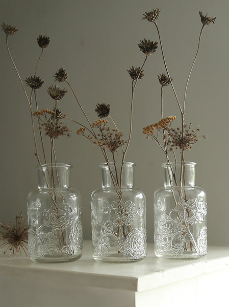 Botanical Bottle Vase