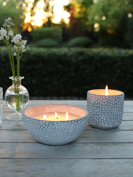 Concrete Citronella Pot