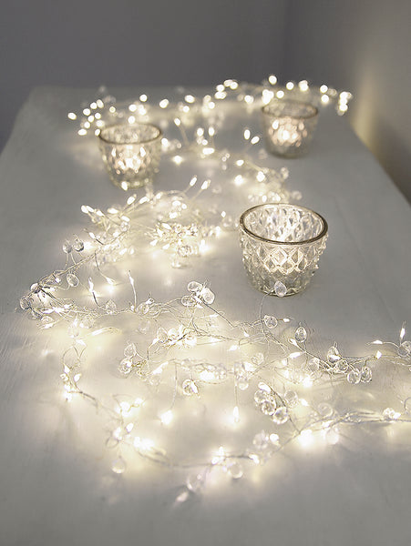 Crystal Cascade String Lights