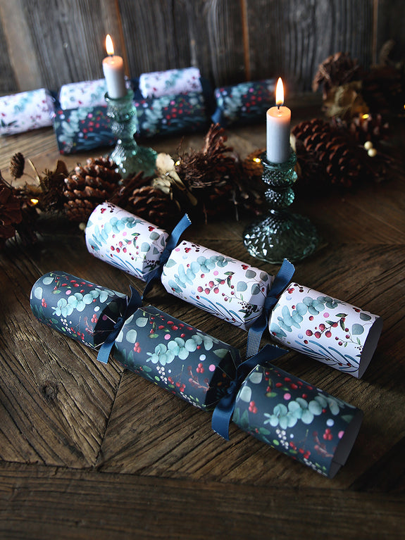 Eucalyptus And Berries Christmas Crackers