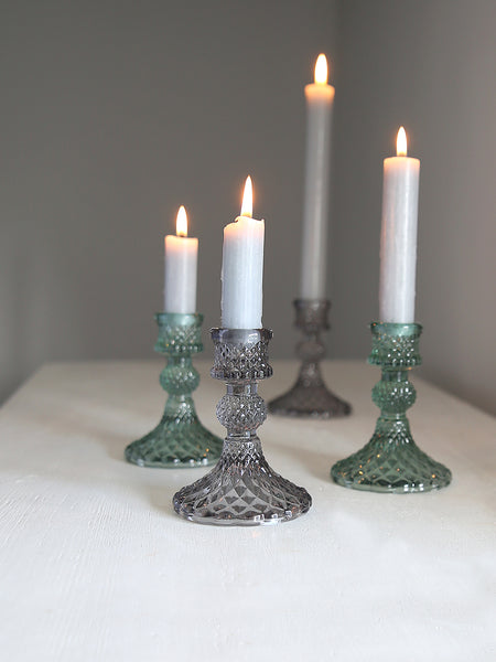 Cut Glass Candlestick