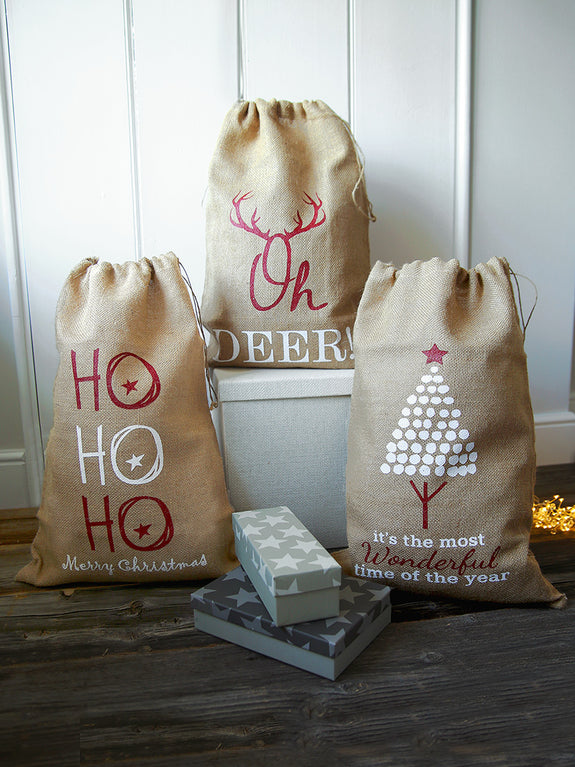Hessian Christmas Sack