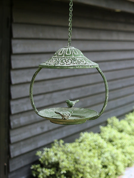 Little Verdigris Bird Feeder