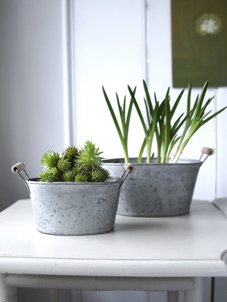 Metal Mini Planter