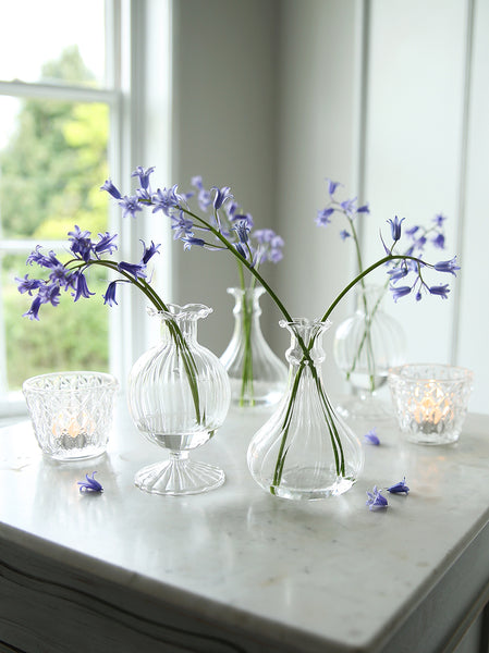 Little Fluted Glass Vase