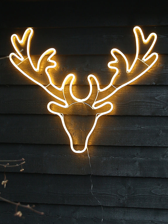 Reindeer Neon Outdoor Light