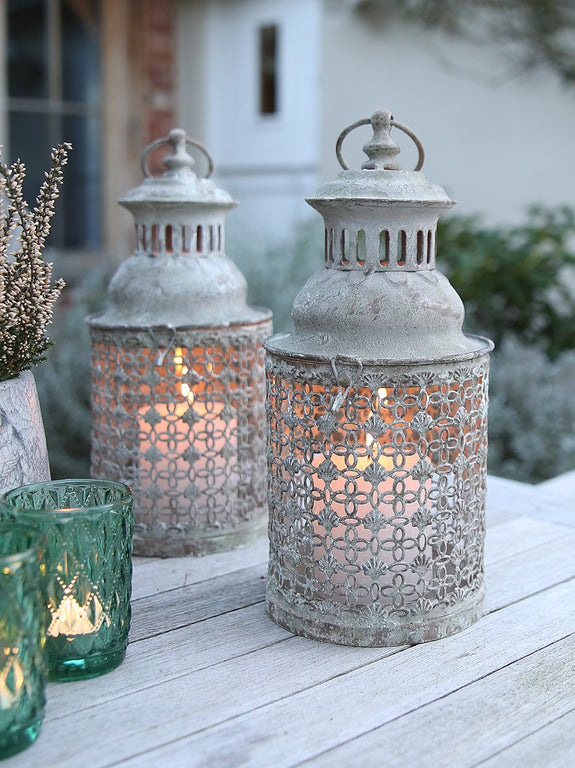 Small Fretwork Lantern